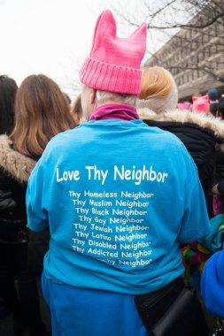 T-shirt at anti-Trump Rally