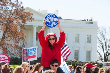 Protest in Support of Abortion Rights