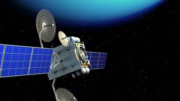 Satellite in Uranus orbit