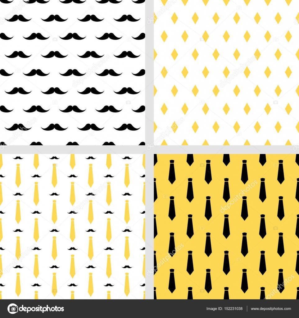 Conjunto de vectores para imprimir patrones de hipster sin costuras ...