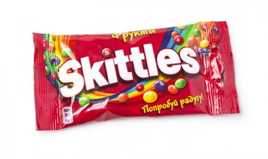 Pack of Fruit Skittles