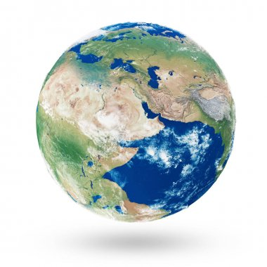 Pangaea continent on earth planet