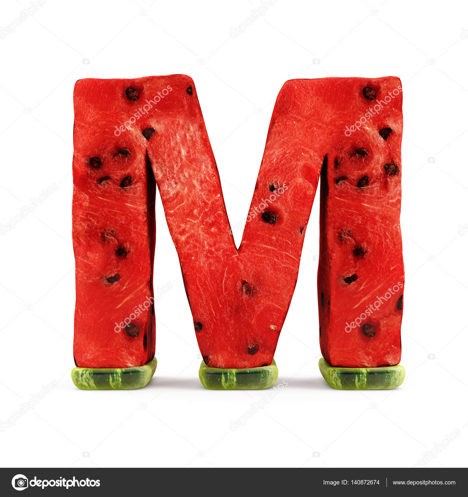 Watermelon alphabet letter m stock photo ras slava 140872674 watermelon alphabet letter m stock photo altavistaventures Gallery