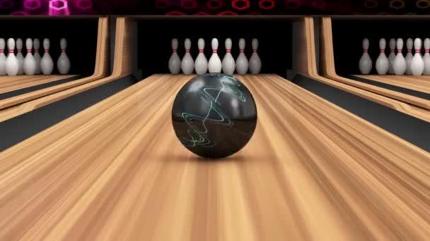 Bowlingové koule chybí do kolíky