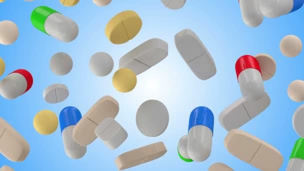 Bunte Pillen für die Medizin