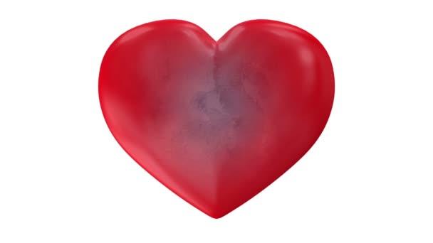Zmrazené srdce roztříštila na kousky.