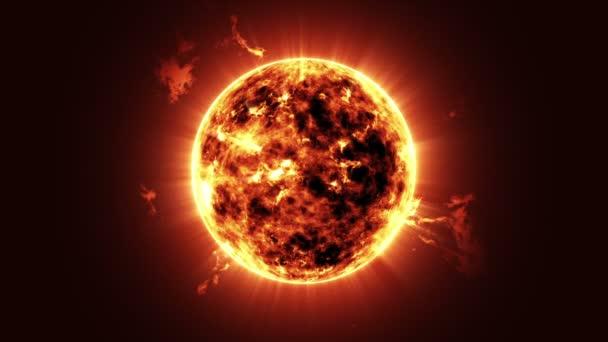 Big Sun Star in Space.