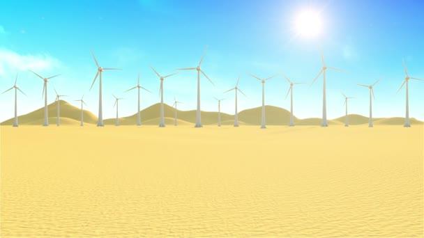 moderne Windkraftanlagen