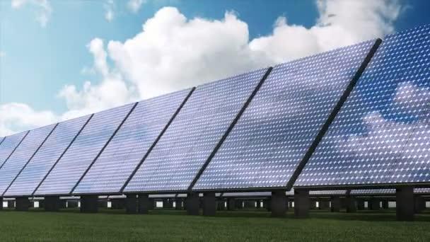 moderne Sonnenkollektoren