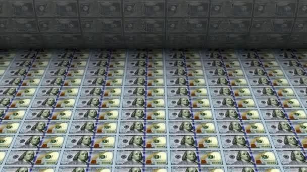 Animace, tisk peněz