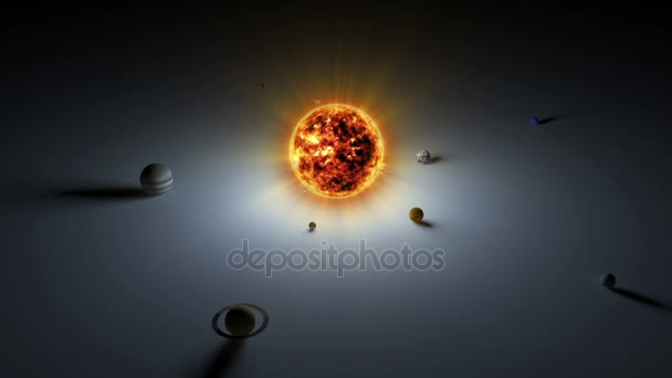 Animace ze sluneční soustavy