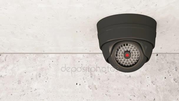 Biztonsági kamera forgatás.