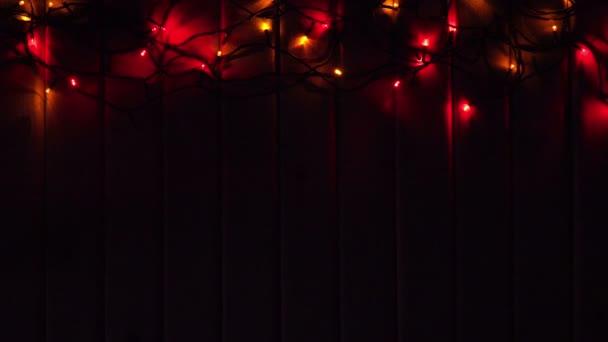 Barevné vánoční světla LED