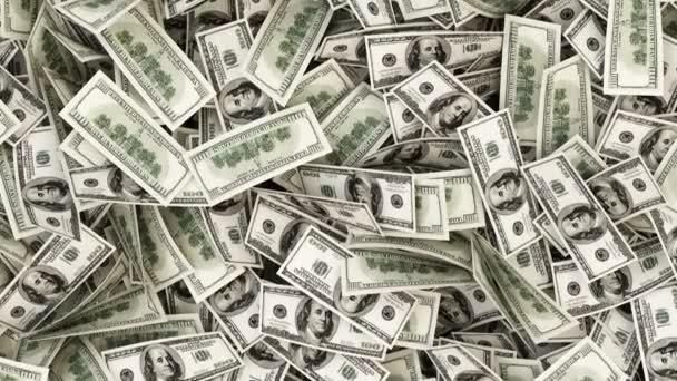 Animace z peněz pozadí