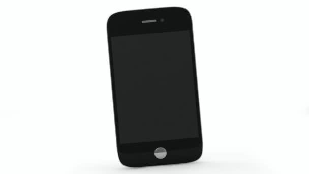 Animation des Touchscreen-Smartphone