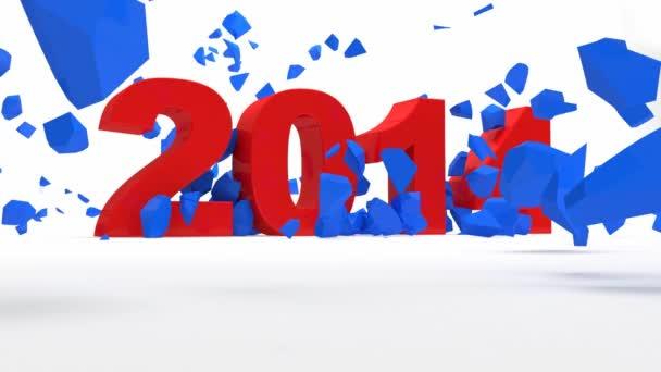 Nový rok 2014 lámání 2013