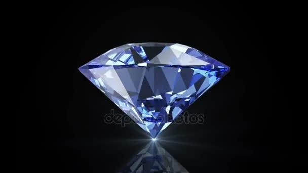 Animace rotace Blue Diamond