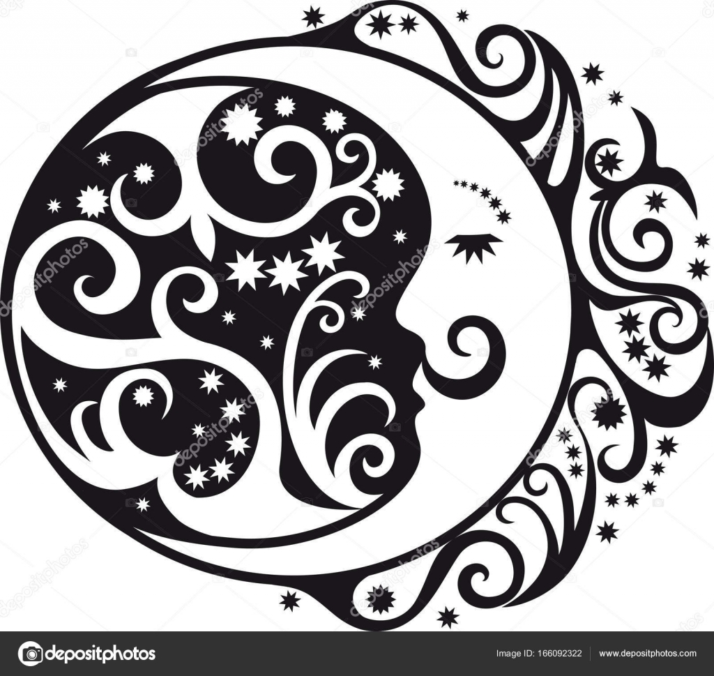 Abstract pattern crescent moon and sun symbol stock vector abstract pattern crescent moon and sun symbol stock vector biocorpaavc Images