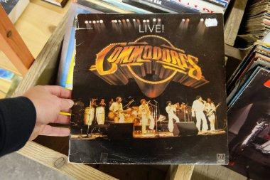 Album Commodores, Live