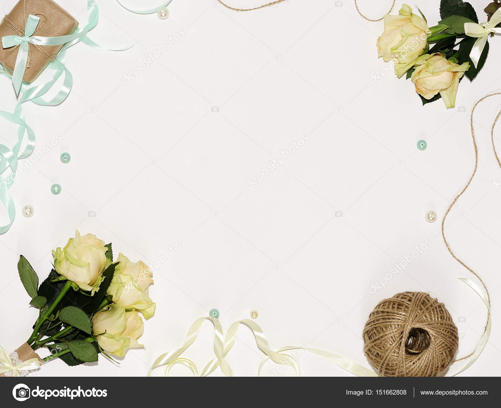 office stock depositphotos s workspace background bouquet top beautiful white on of a flowers computer cup photo table view coffee desk women with