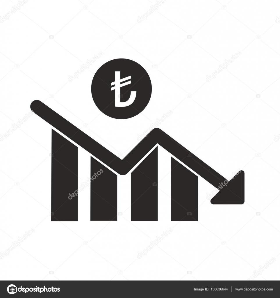 Turkish lira decrease statistics symbol vector design stock turkish lira decrease statistics symbol vector design stock vector buycottarizona