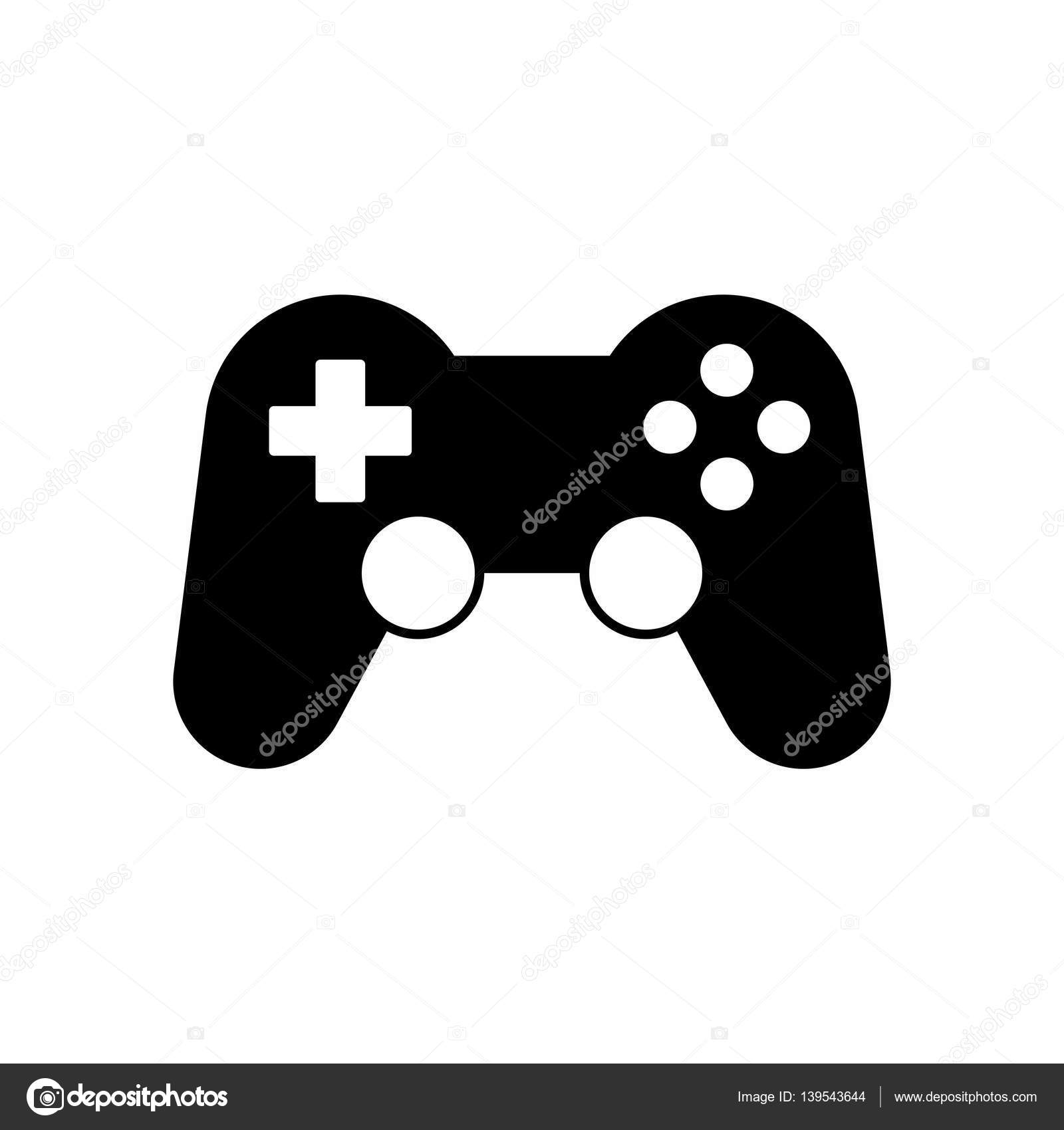 Gamepad Oder Game Controller Symbol Vektor Design Stockvektor