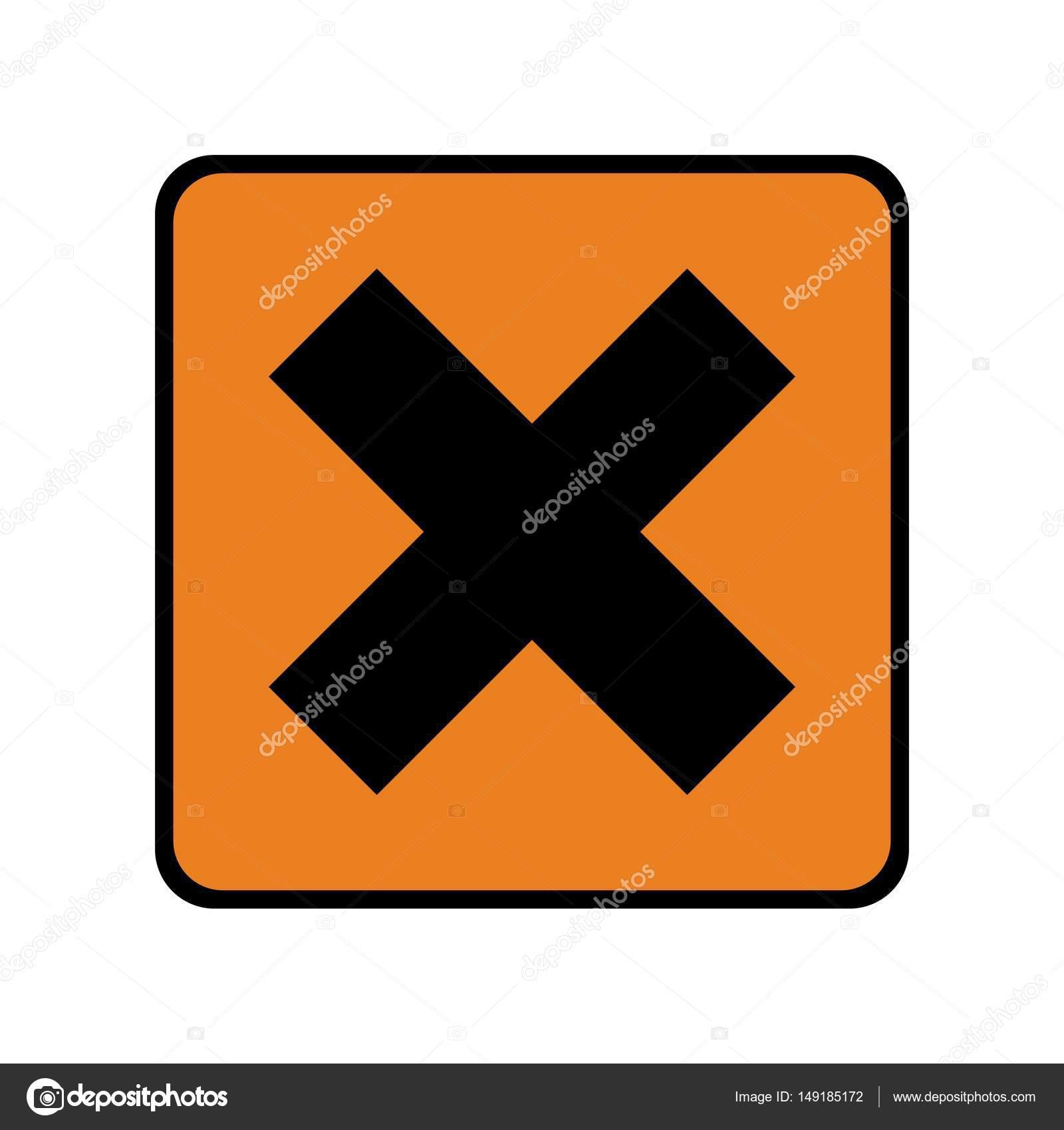 Irritant hazard sign or symbol stock vector dobdeazsoltail irritant hazard sign or symbol stock vector biocorpaavc Gallery