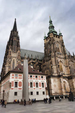 Gothic Cathedral of St. Vitus - Prague's largest cathedral