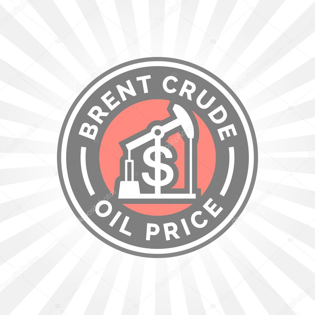 Brent crude oil price icon with dollar symbol badge stock brent crude oil price icon with dollar symbol badge gasoline price sign vector illustration vector by themoderncanvas biocorpaavc Gallery