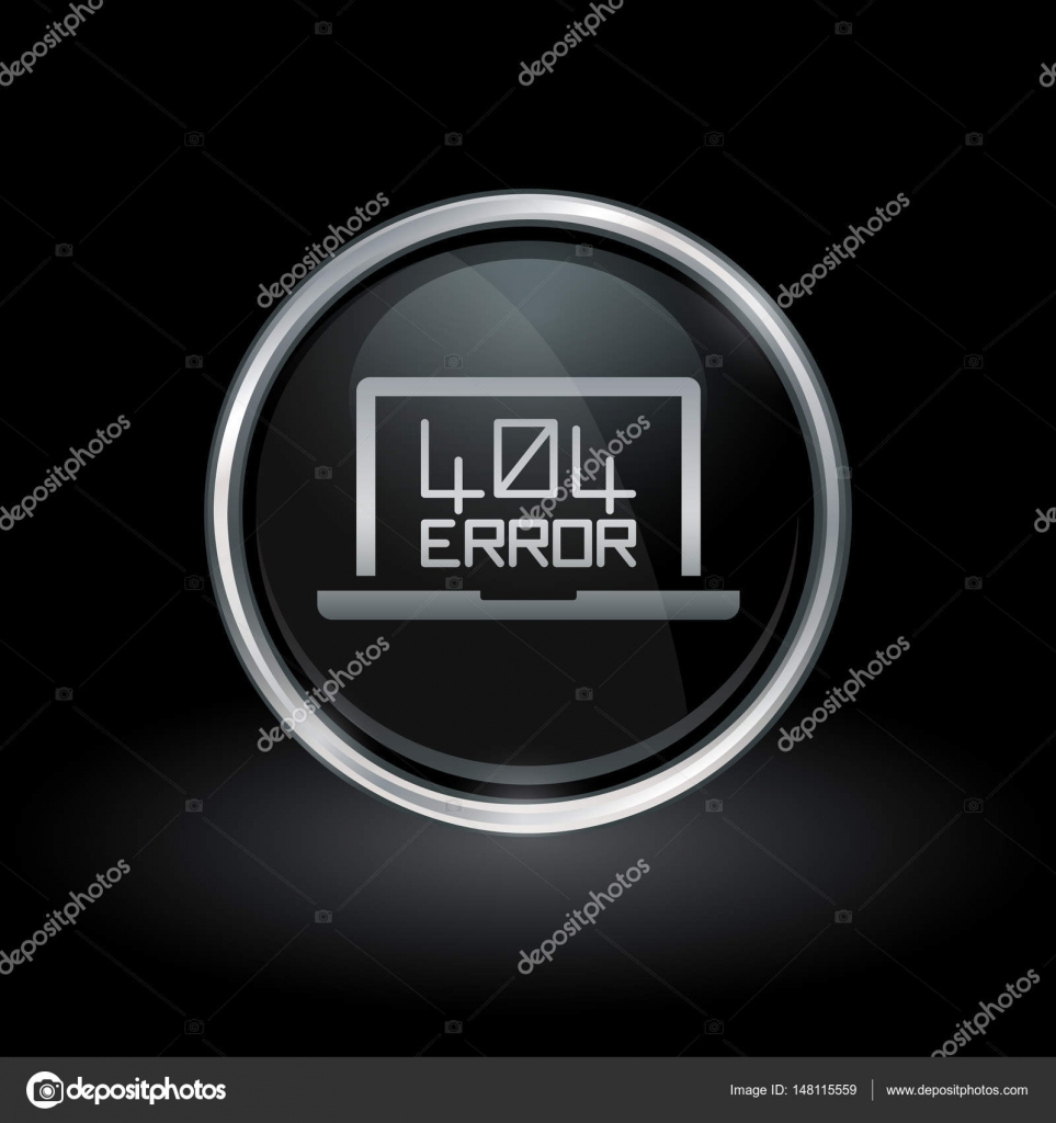 Background image 404 not found - 404 Not Found Icon Inside Round Silver And Black Emblem Stock Vector 148115559