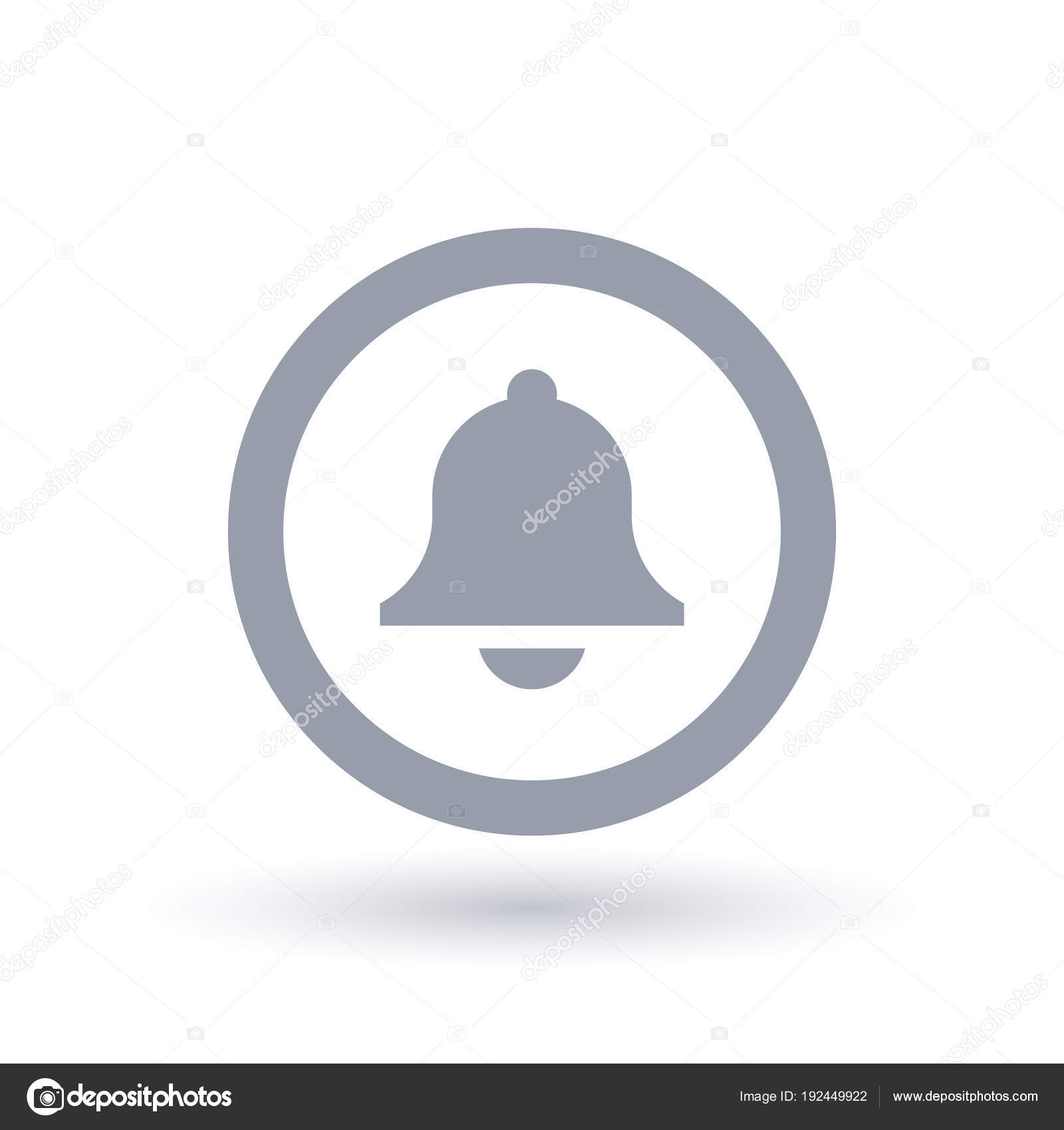 Bell icon - Alarm sound symbol — Stock Vector © TheModernCanvas