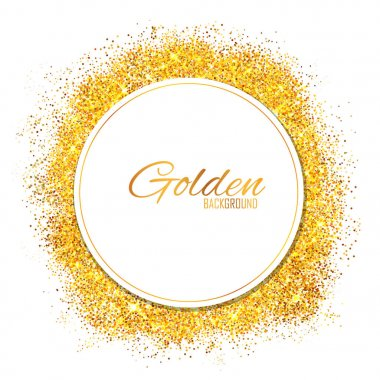 Shiny Glamorous Glittering Gold texture background
