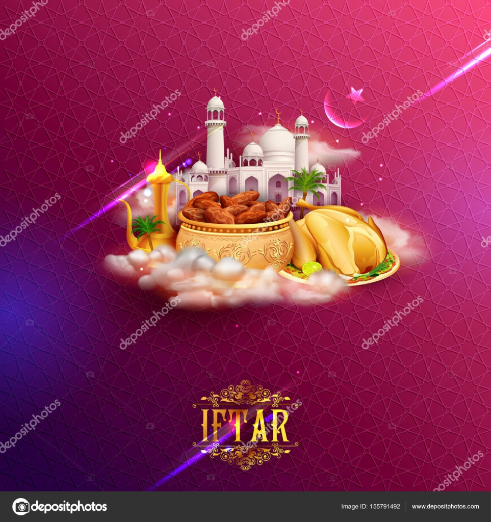 Iftar party invitation greeting with mosque for islam religious illustration of iftar party invitation greeting with mosque for islam religious festival eid on holy month of ramadan vector by vectomart stopboris Image collections