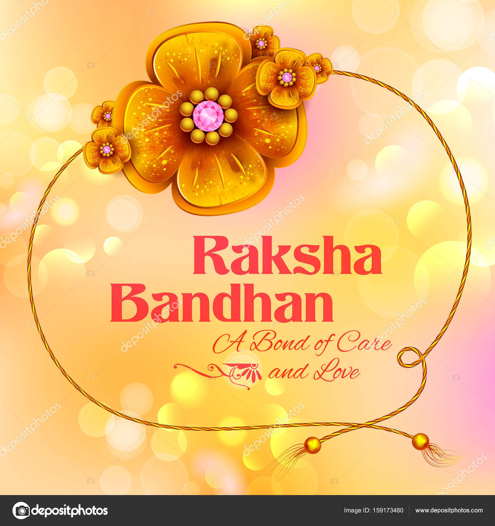 Greeting card with decorative rakhi for raksha bandhan background illustration of greeting card with decorative rakhi for raksha bandhan indian festival for brother and sister bonding celebration vector by vectomart kristyandbryce Image collections