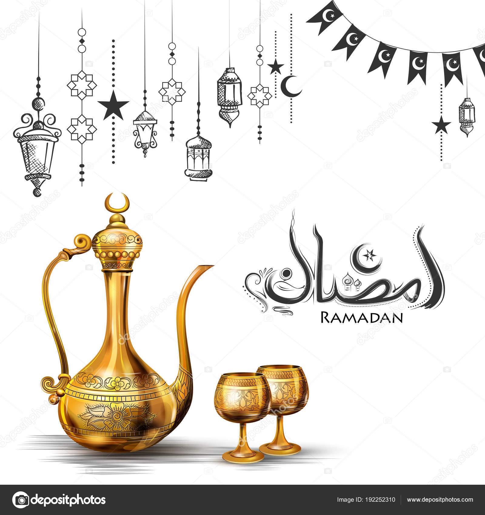 Ramadan kareem generous ramadan greetings for islam religious ramadan kareem generous ramadan greetings for islam religious festival eid with olden floral frame stock m4hsunfo Images