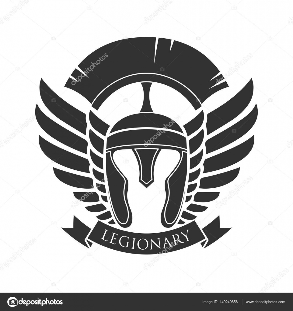 Military Symbol Legionarys Badge Stock Vector Matc 149240856