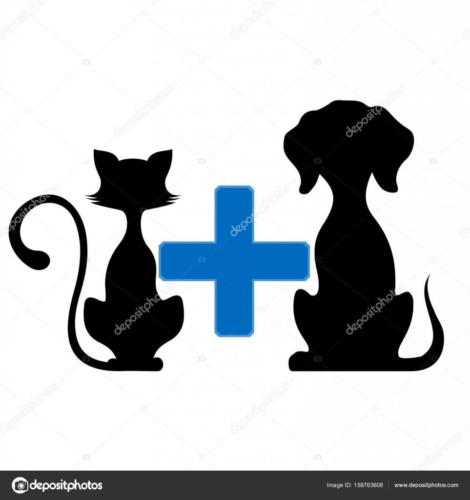 Muito Símbolo de medicina veterinária de animais de estimação — Vetores  HZ84