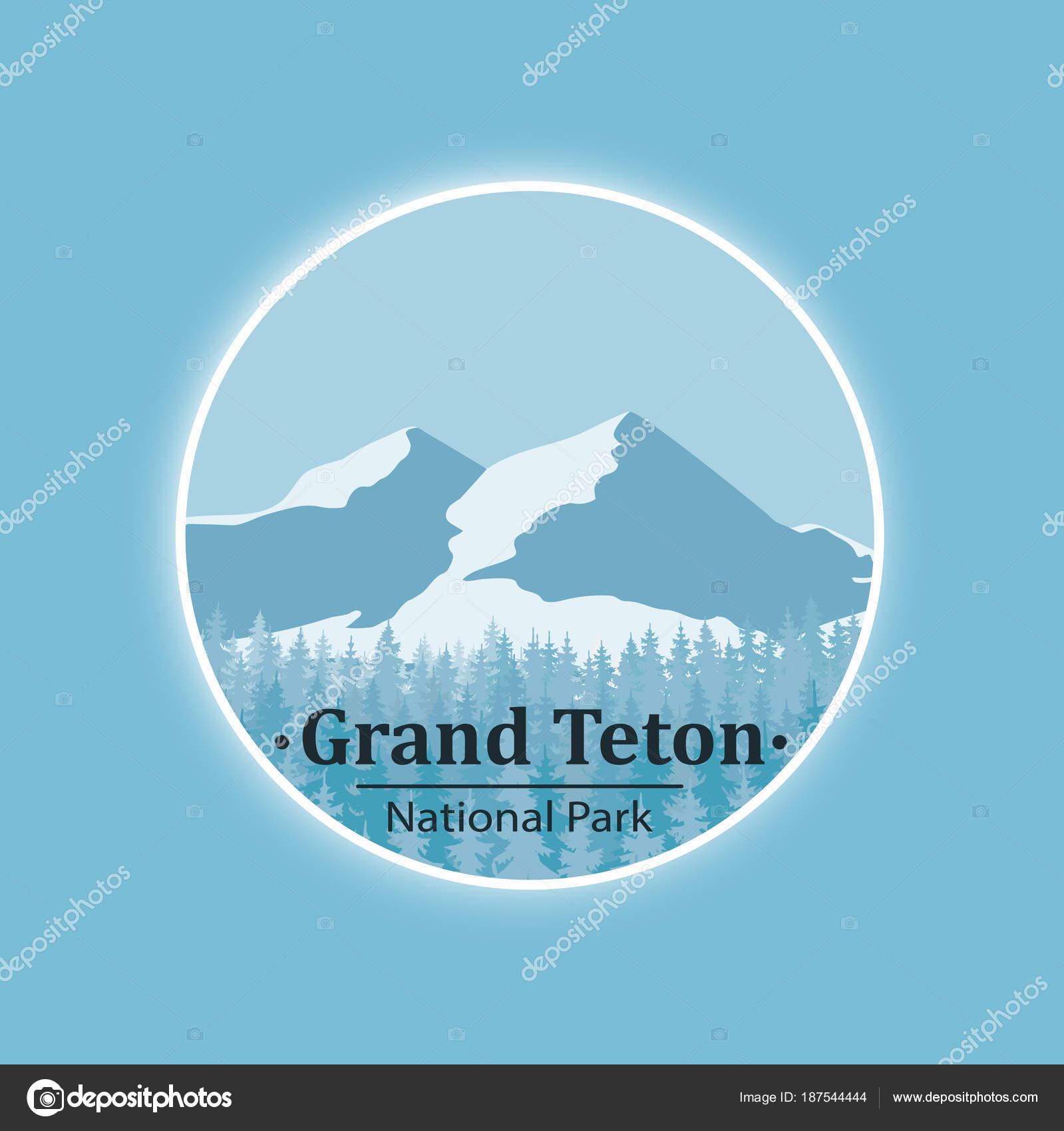National Park Symbol Ctor Icon Stock Vector Matc 187544444