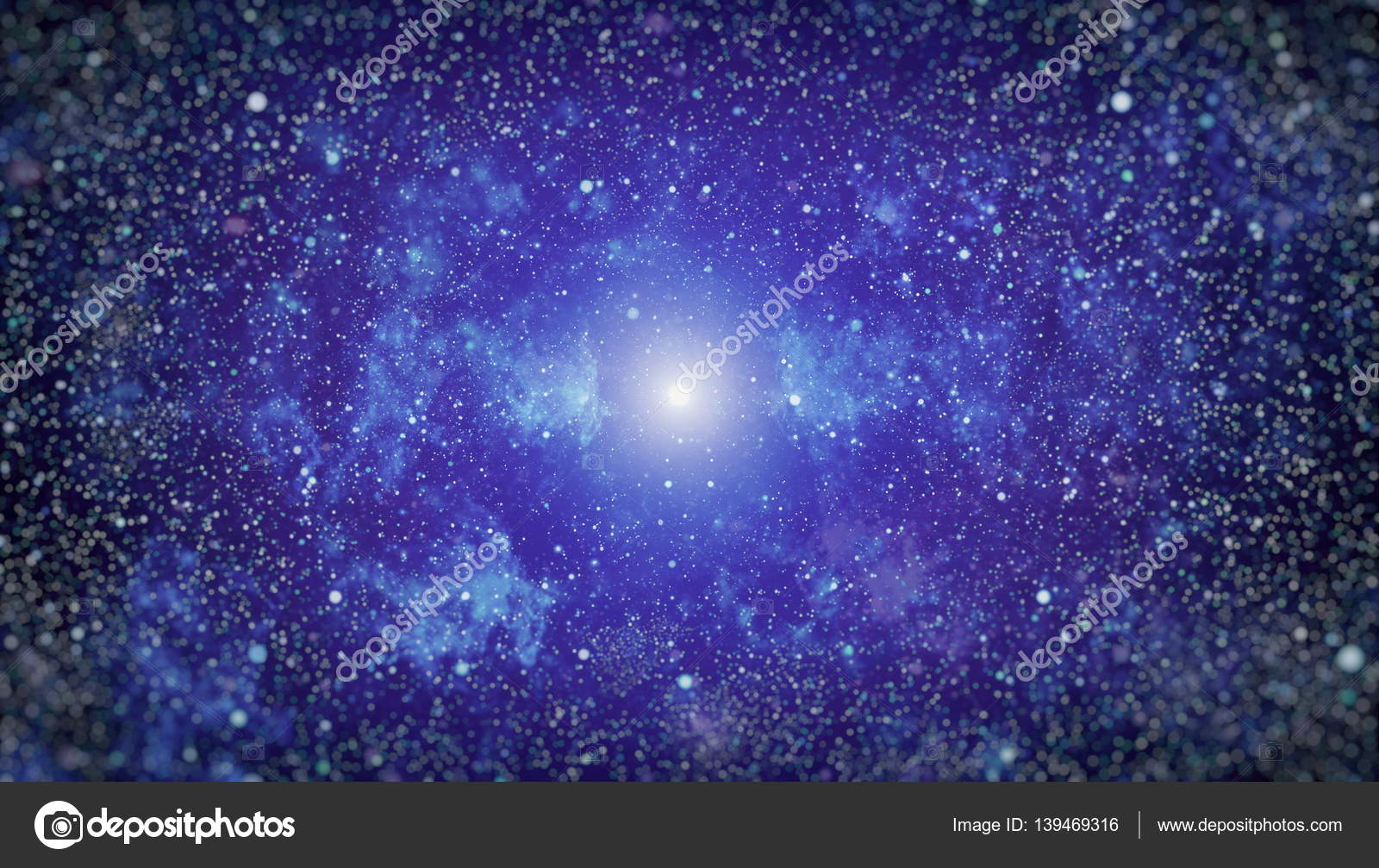 Derin Uzay Yüksek çözünürlüklü Yıldız Alanı Arka Plan Yıldızlı