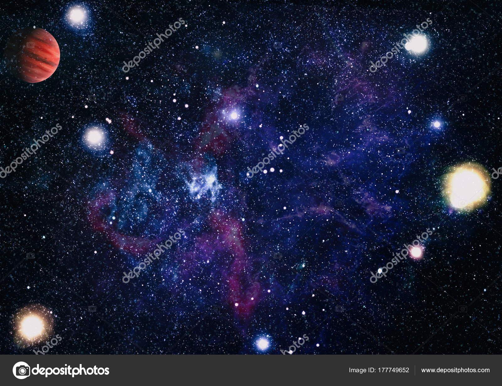 Beautiful Nebula Stars And Galaxies Elements Of This Image Furnished By NASA Photo Maximusdn