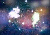 Fotografie Krásné mlhoviny, hvězdy a galaxie. Prvky tohoto obrázku jsou podle Nasa