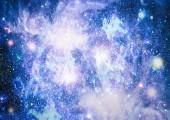Krásné mlhoviny, hvězdy a galaxie. Prvky tohoto obrázku jsou podle Nasa