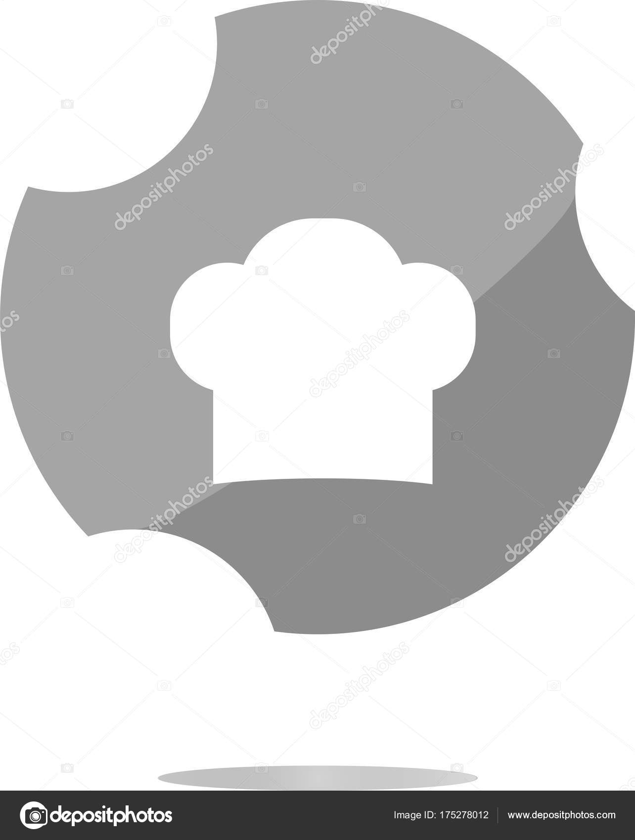 Chef Hat Sign Icon Cooking Symbol Cooks Hat Stock Photo