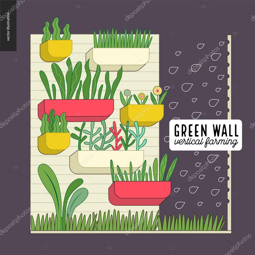 Urban farming and gardening - vertical farming