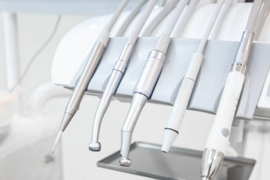 dental instruments in the dental office