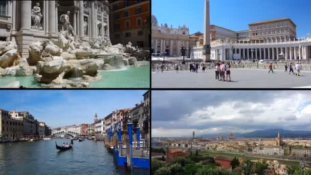 Firenze, Fontana di Trevi a Roma, città del Vaticano, Venezia Italia