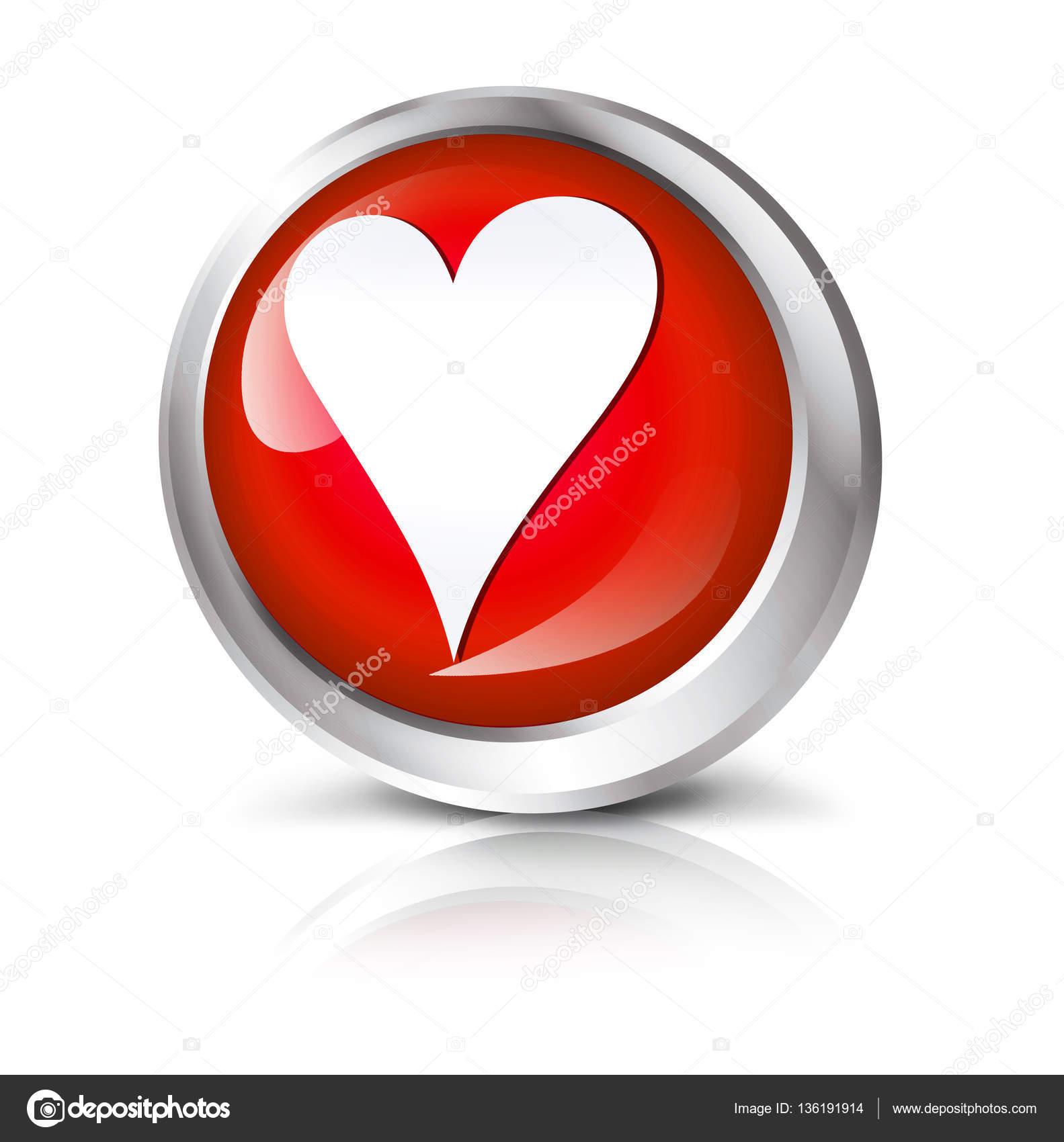 Computer icon with heart symbol stock photo eivaisla 136191914 glossy red vector icm with shadow isolated on white background computer icon with heart symbol photo by eivaisla buycottarizona Choice Image