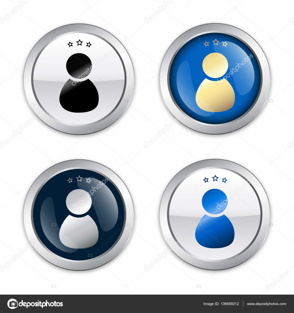 Admin Or icon with admin or person symbol — stock vector © eivaisla