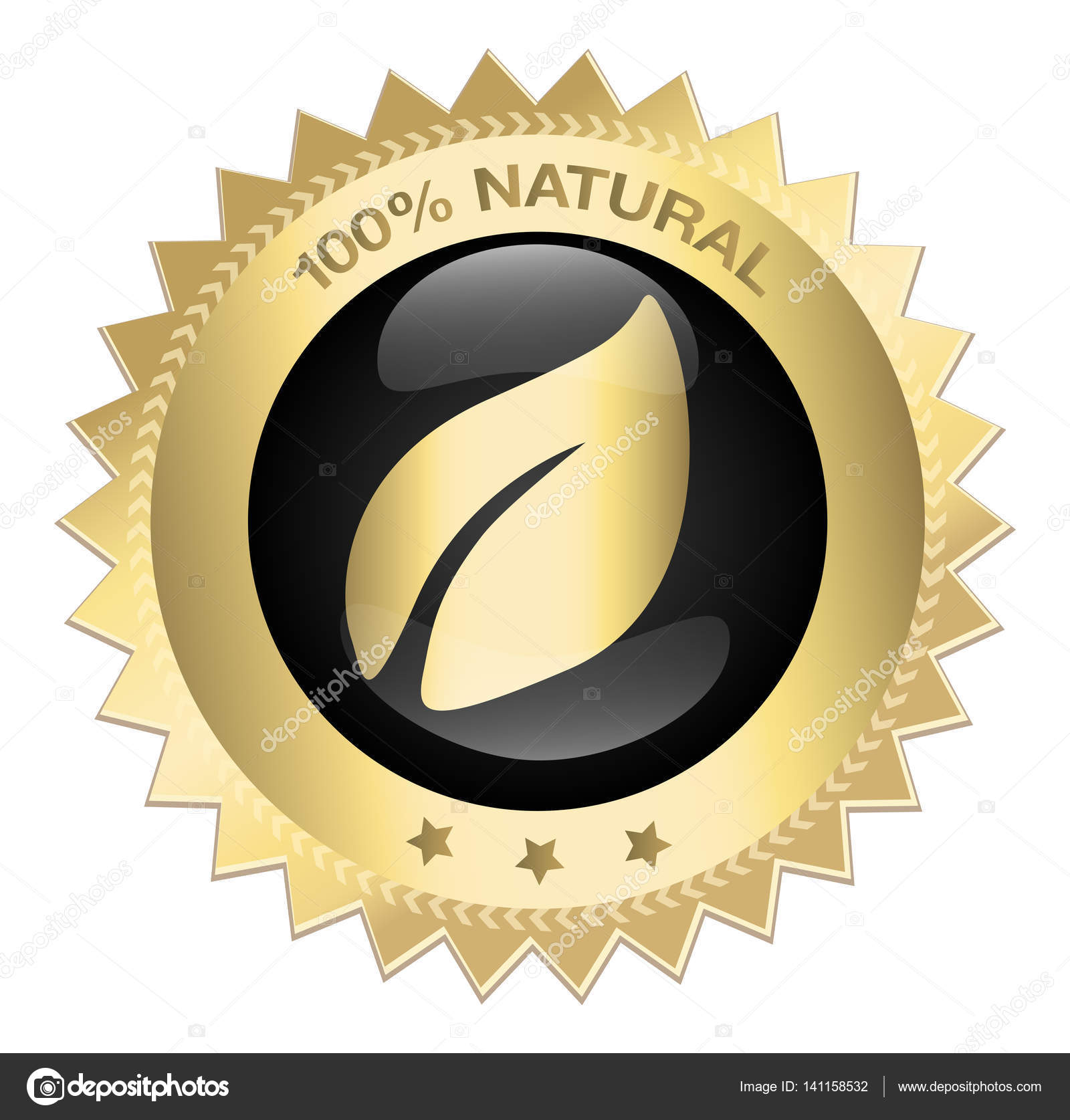 100 natural guaranteed seal or icon with leaf symbol stock vector 100 natural guaranteed seal or icon with leaf symbol stock vector buycottarizona Image collections