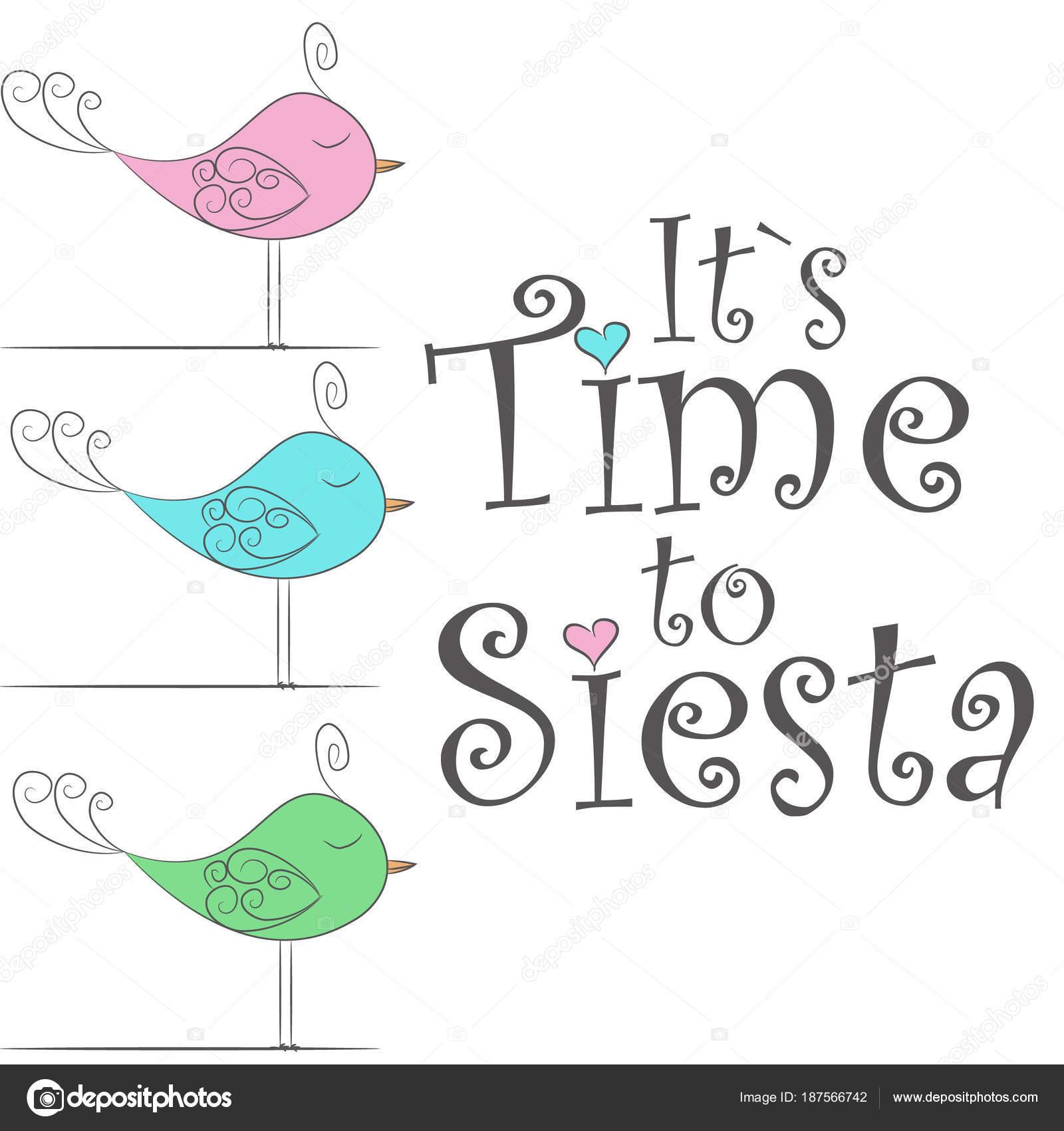 Vector Diseño Illustration Simple Aves Para Dormir Fabuloso Lindas ...